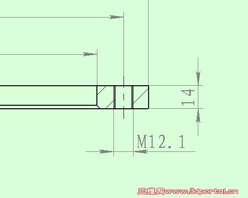 2.1表示什么螺纹孔 机械设计 制造 检测基础理论