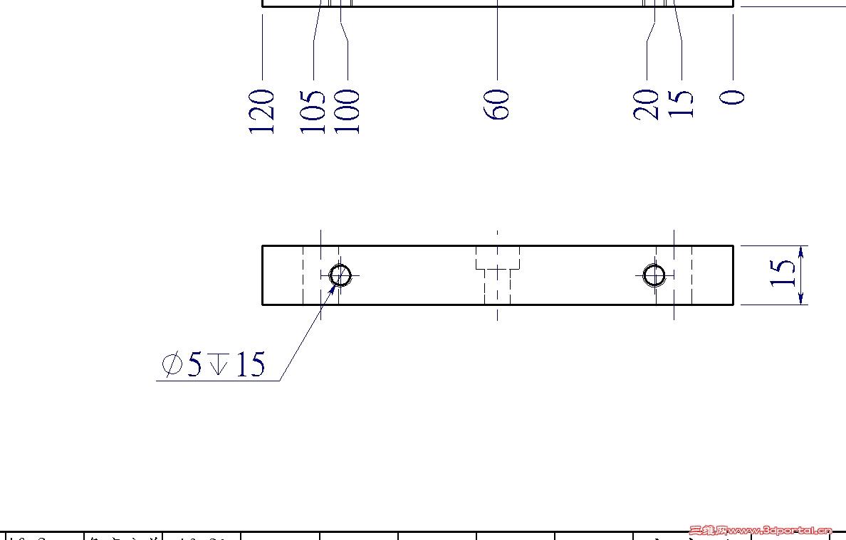 SDW螺纹孔标注问题