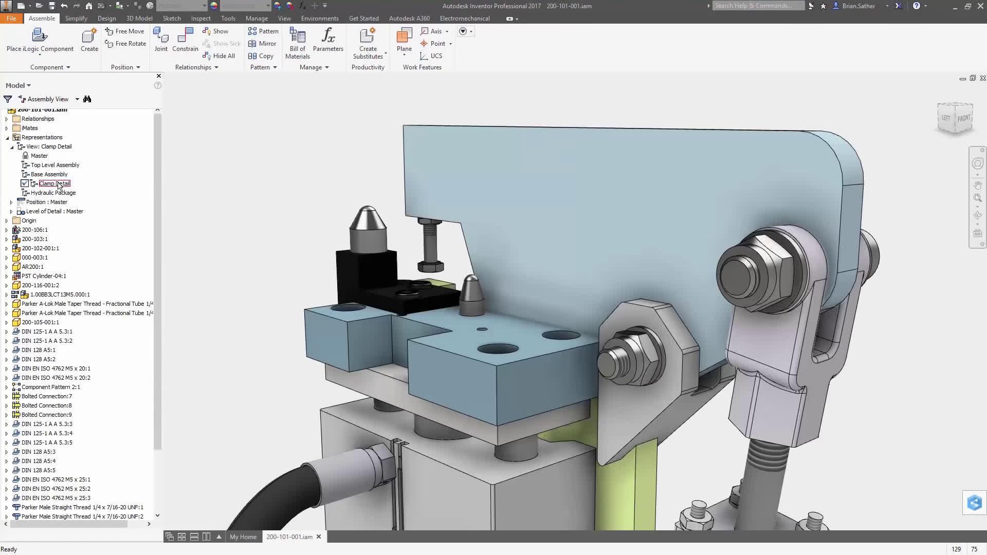 inventor三维智能设计在非标机械设计、制造过程中的应用与实践